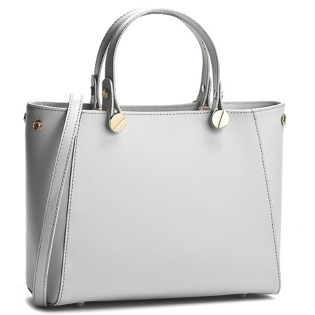 Handbag CREOLE - K10207 Jasny Szary