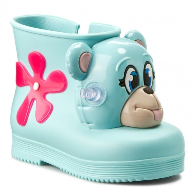 Wellingtons MELISSA - Mini Melissa Monkey Boot + Jer 31825 Green 01164