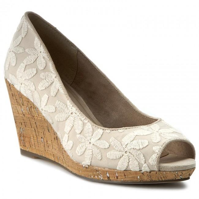 Shoes TAMARIS - 1-29303-26 Ivory Macramee 423