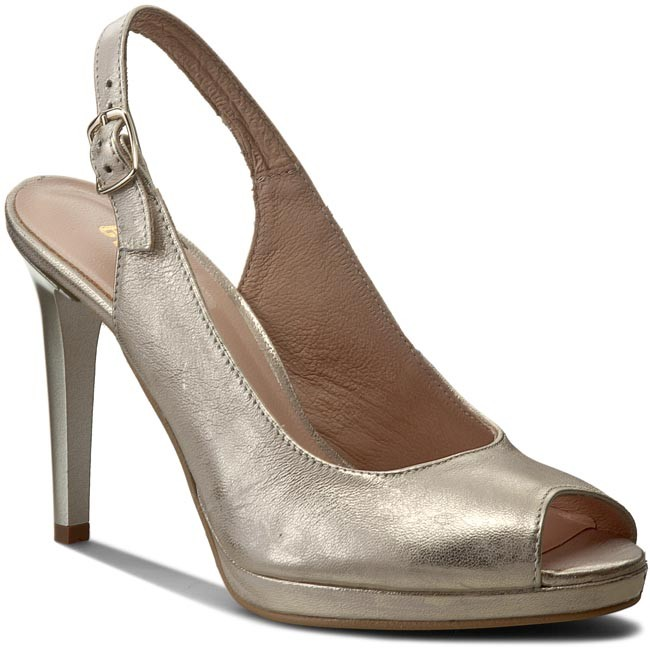 Sandals EKSBUT - 4151-672-1G Złoto Lic