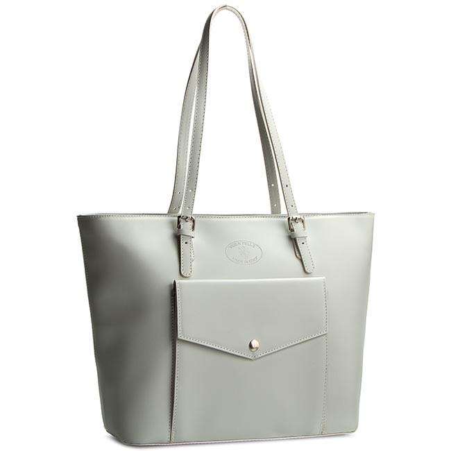Handbag CREOLE - K10240 Jasny Szary