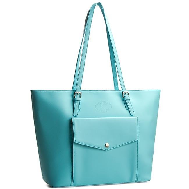 Handbag CREOLE - K10240 Błękitny