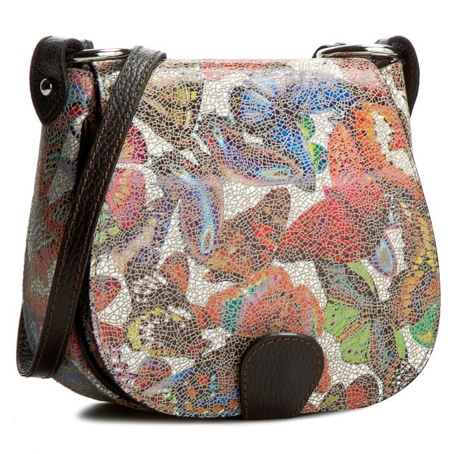 Handbag CREOLE - RBI046 Motyl Jasny/C.Brąz