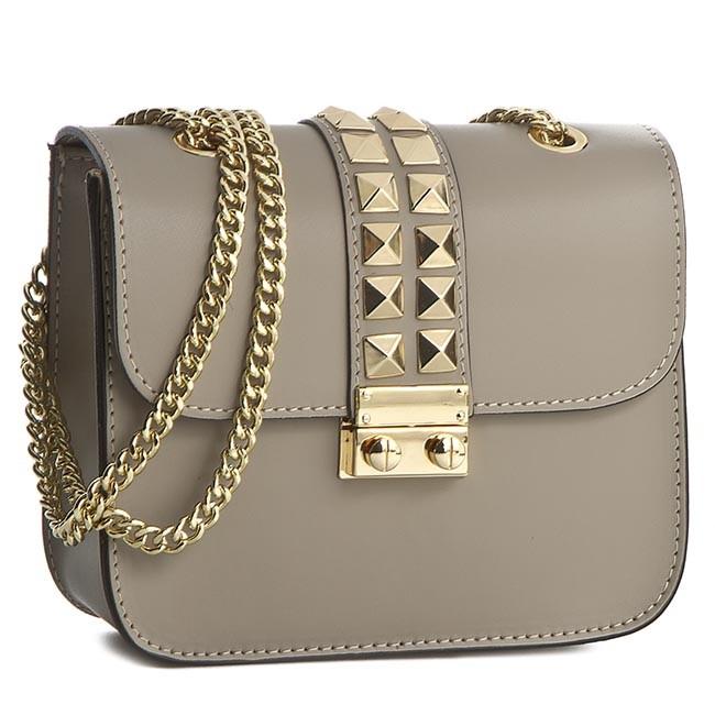 Handbag CREOLE - K10241 Ciemny Beż