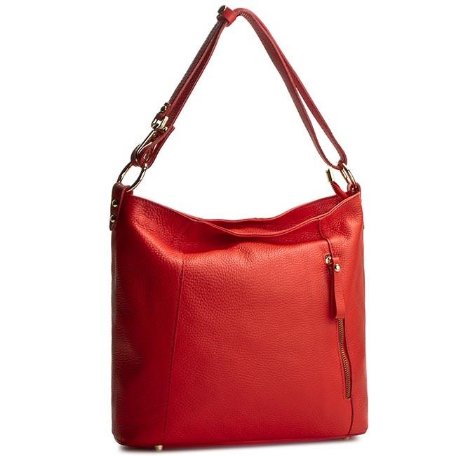 Handbag CREOLE - RBI10150 Czerwony