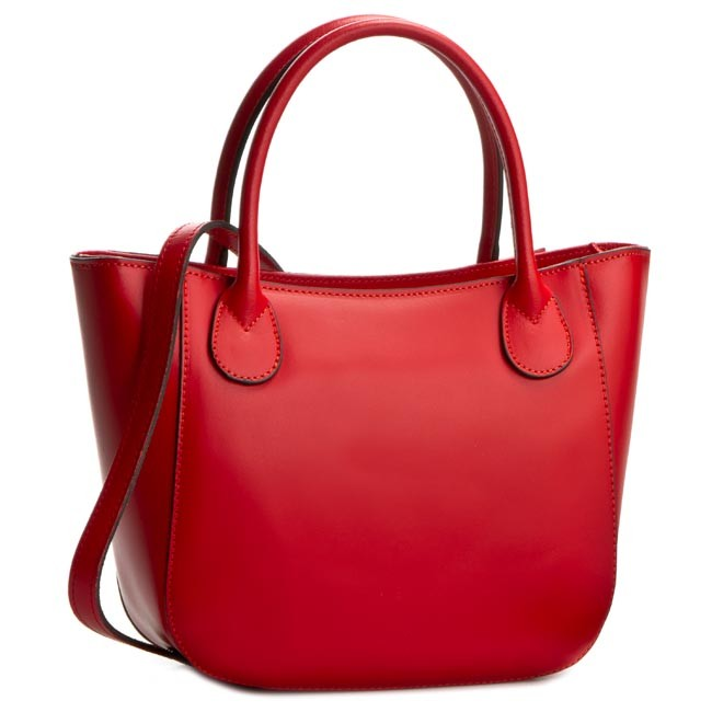 Handbag CREOLE - K10244 Czerwony