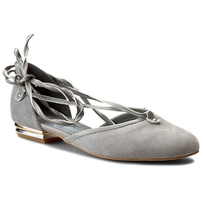 Shoes ROBERTO - 497 Szary Welur