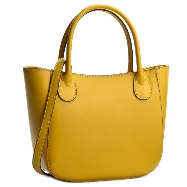 Handbag CREOLE - K10244 Żółty