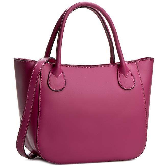Handbag CREOLE - K10244  Ciemny Różowy