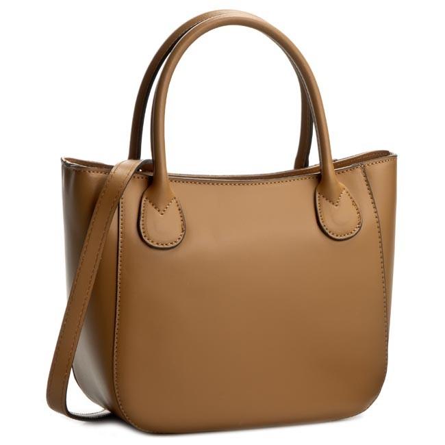 Handbag CREOLE - K10244 Średni Brąz