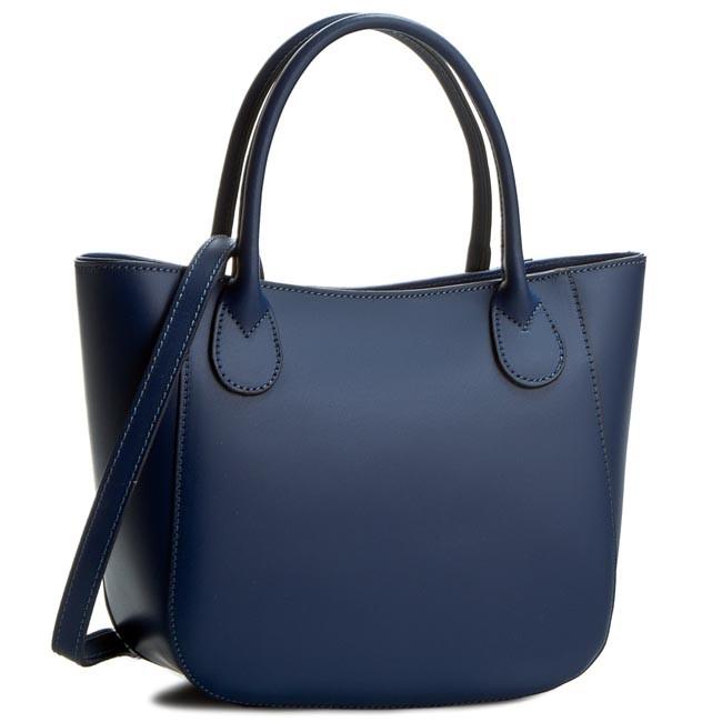 Handbag CREOLE - K10244 Granatowy