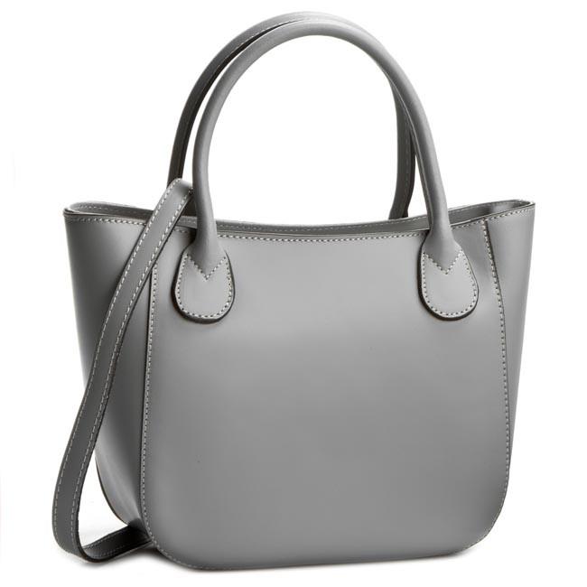 Handbag CREOLE - K10244  Szary