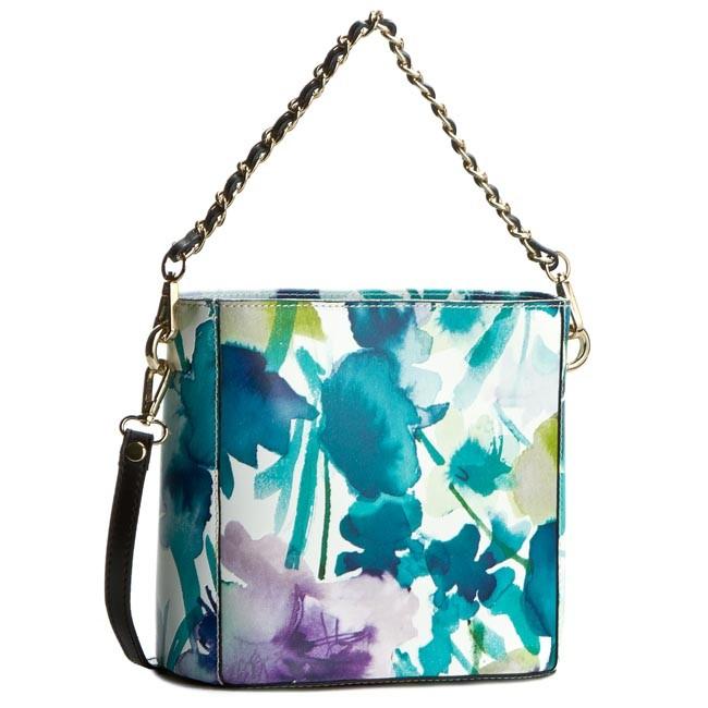 Handbag CREOLE - K10228 Kwiaty Zielony
