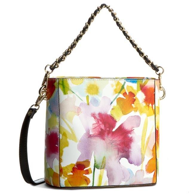 Handbag CREOLE - K10228 Kwiaty Żółty