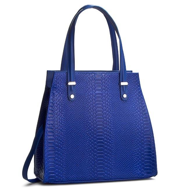 Handbag CREOLE - K10245 Niebieski Krok.