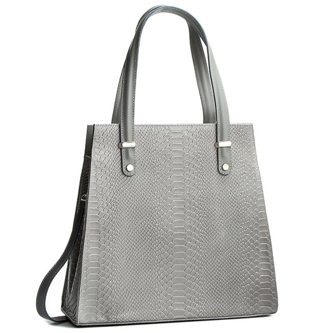 Handbag CREOLE - K10245 Szary Krok.