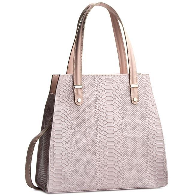 Handbag CREOLE - K10245 Różowy Krok.