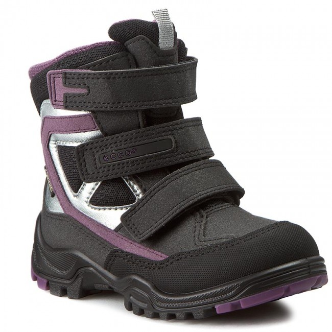 Snow Boots ECCO - Xpedition Kids GORE-TEX 70464259461 Black/Black/Grape