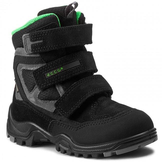 Snow Boots ECCO - Xpedition Kids GORE-TEX 70464259657 Black/Black/Black-Concrete
