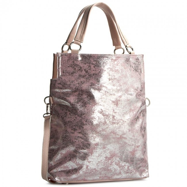 Handbag CREOLE - K10246 Różowy Przecierany