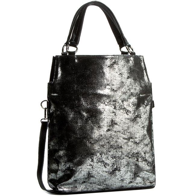 Handbag CREOLE - K10246 Czarny Przecierany
