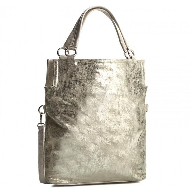 Handbag CREOLE - K10246 Złoty Przecierany/Beż