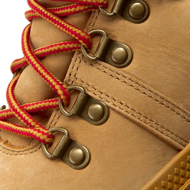 cf506f442af Hiking Boots PALLADIUM - Pallabrouse Hikr Lp 95140-278-M Amber Gold/Red/Gum