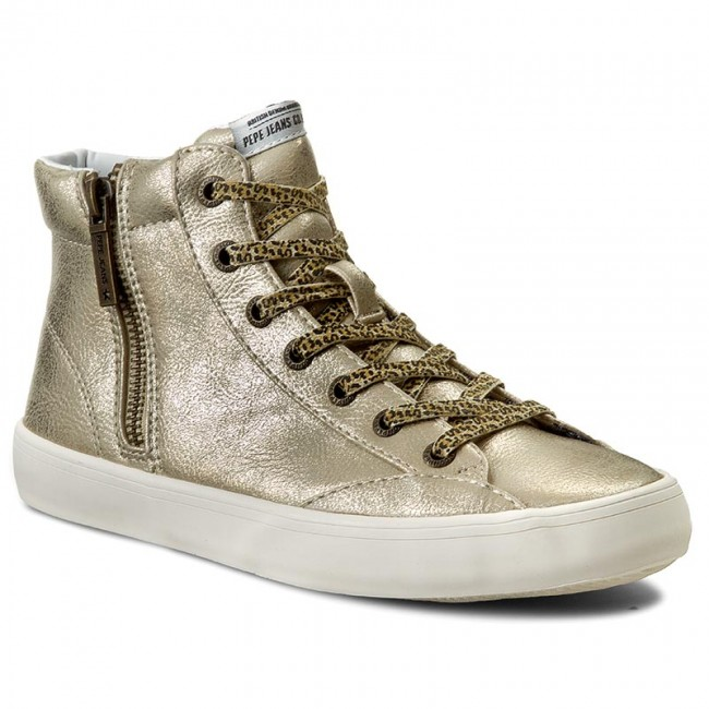 Sneakers PEPE JEANS - Clinton Combi PLS30359 Gold 099