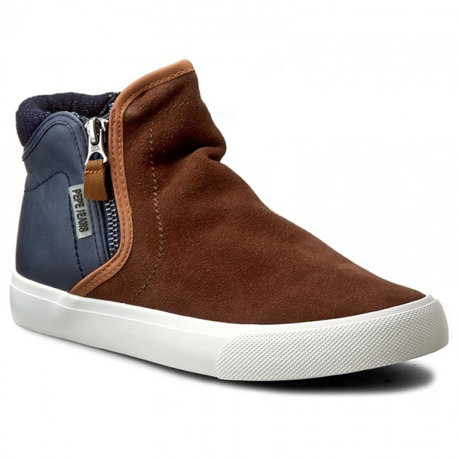 Boots PEPE JEANS - Traveler Zip PBS30215 Tobacco 859