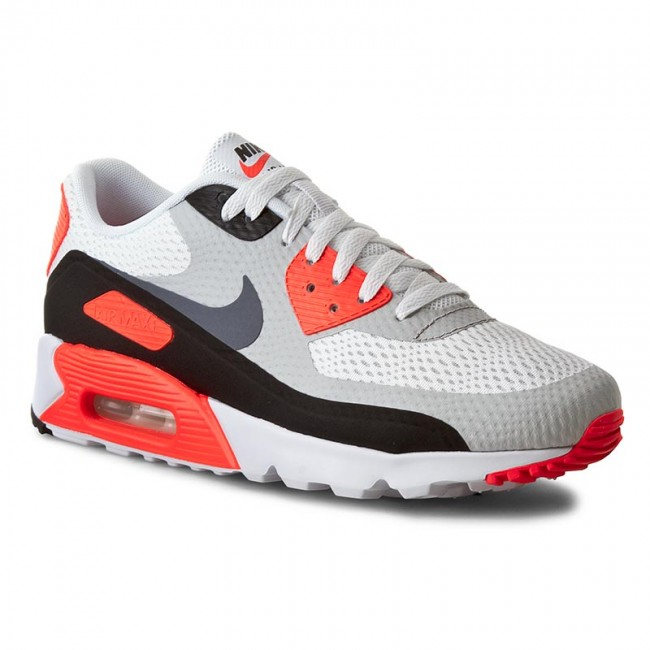 Shoes NIKE Air Max 90 Ultra Essential 819474 106 WhiteCool GreyInfraredBlack