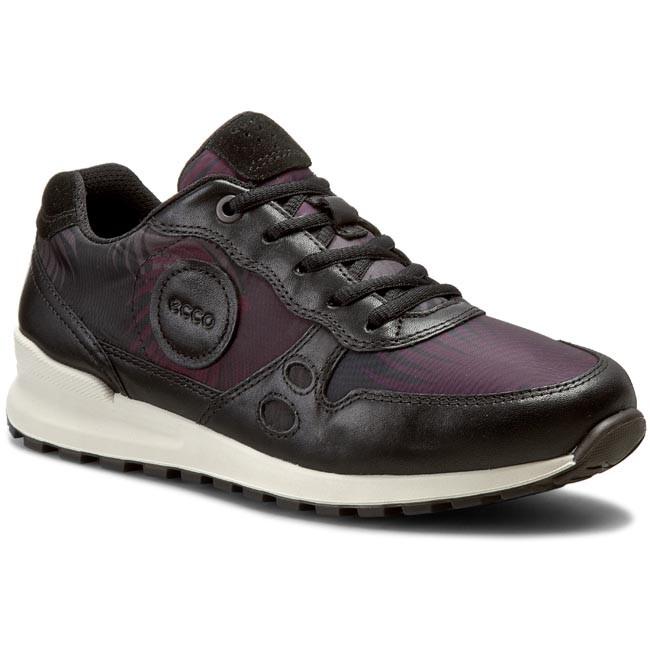 Sneakers ECCO CS14 Ladies 23220359974 BlackBlack Palm PrintBlack