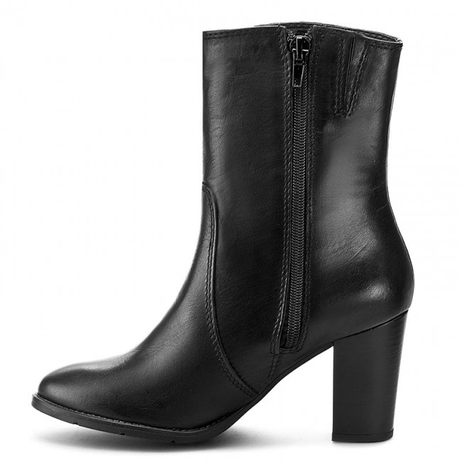 boots tamaris 1 25385 27 black leather 003 boots