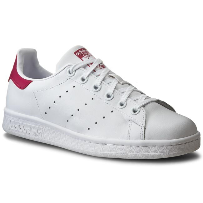 Shoes adidas - Stan Smith J B32703 Ftwwht/Ftwwht/Bopink