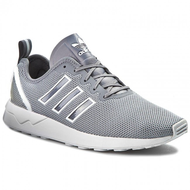 best sneakers 26841 a36ea Shoes adidas - Zx Flux Adv S79006 Grey/Grey/Ftwwht