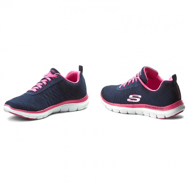 Cayo Opresor Lectura cuidadosa  Shoes SKECHERS - Flex Appeal 2.0 12753/NVPK Navy/Pink - Fitness - Sports  shoes - Women's shoes | efootwear.eu