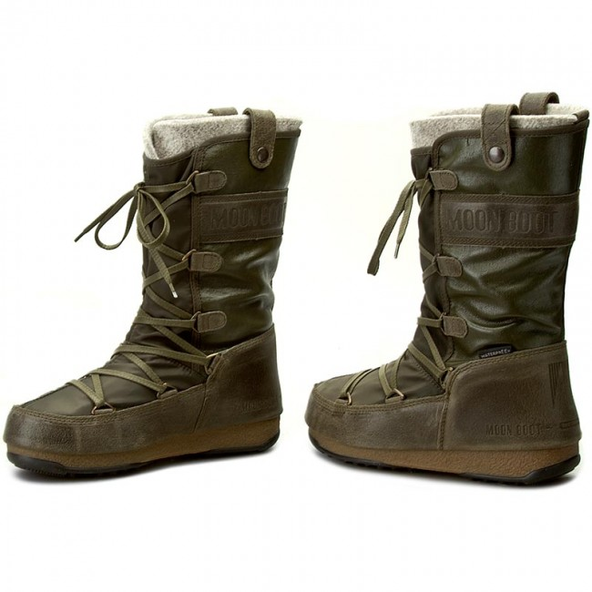 half off a6ba4 23ea6 Snow Boots MOON BOOT - W.E. Monaco Mix 24004000002 Military Green