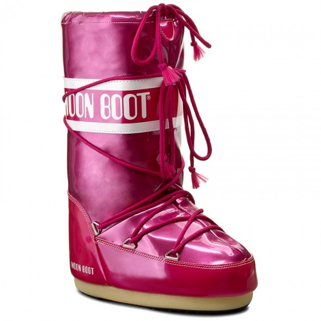 Snow Boots MOON BOOT - Vinile Met. 14021400007 Fucsia