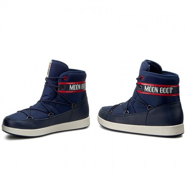 big sale 835a0 a25ca Snow Boots MOON BOOT - Neil Vintage 14300600001 Blu Navy/Rosso