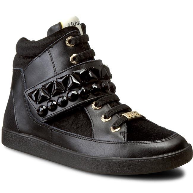 official photos 8c3ae b54e6 Sneakers LIU JO - Sneaker Alta Gerani S66021 P0169 Nero 22222