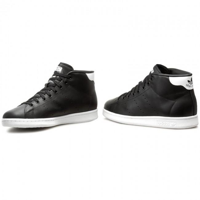 uk availability c7889 4ac56 Shoes adidas - Stan Smith Mid S75027 Cblack/Cblack/Ftwwht