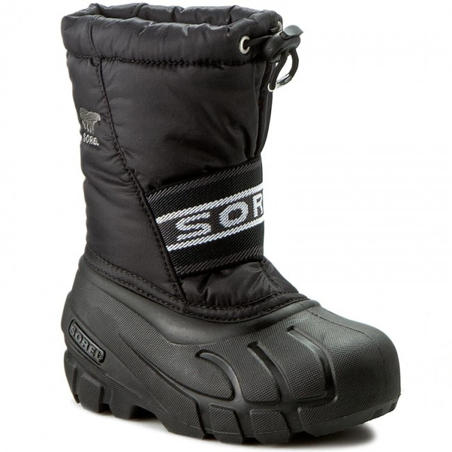 Sorel Youth//Kids//Toddler Cub Cold Weather Boot Black