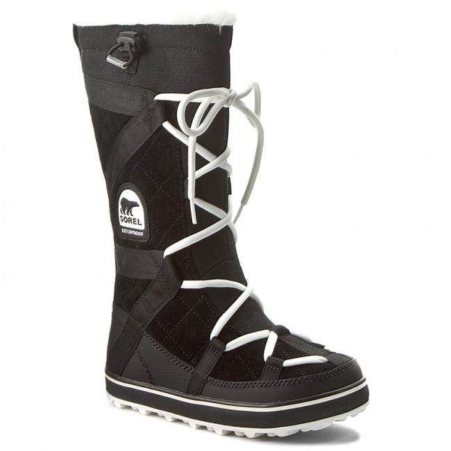 Snow Boots SOREL - Glacy Explorer NL1977 Black 012