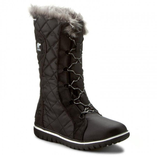 Snow Boots SOREL - Cozy Cate NL2363-010 Black/Sea Salt