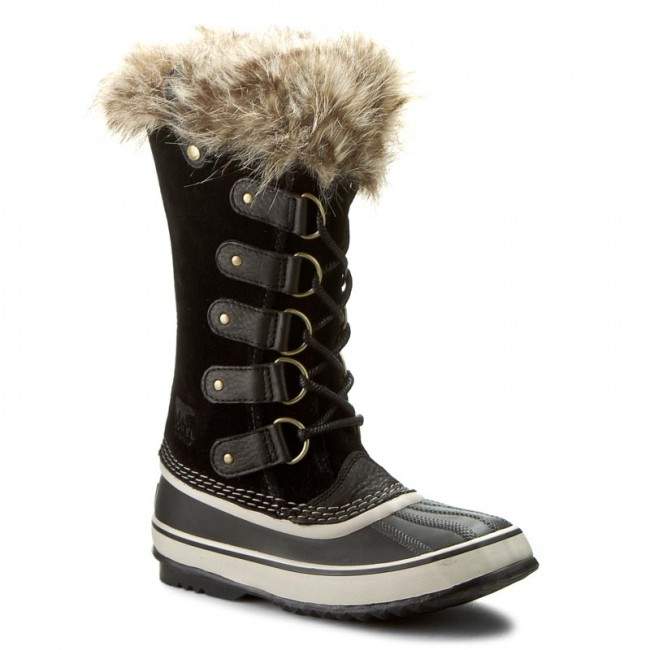 Snow Boots SOREL - Joan Of Arctic NL 2429-010 Black/Stone