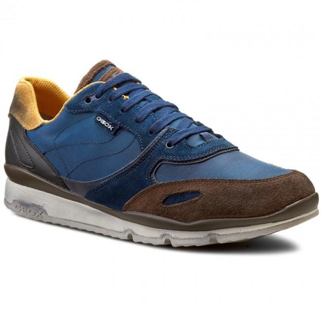 Sneakers GEOX U Sandro A U52A6A 0FU22 C4R6L Dk RoyalCigar