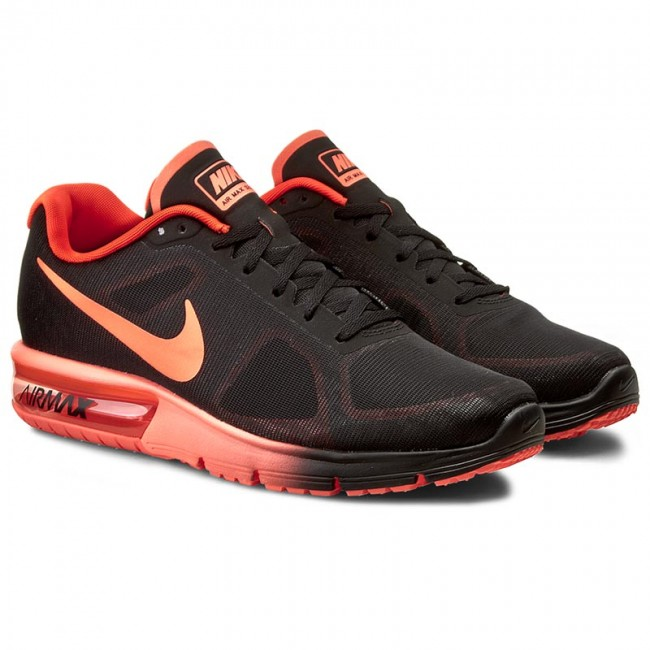 shoes nike air max sequent 719912 012 black total