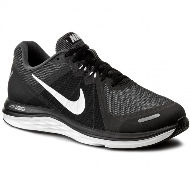 fiabilidad auge Espesar  Shoes NIKE - Dual Fusion X 2 819316 001 Black/White/Dark Grey - Indoor -  Running shoes - Sports shoes - Men's shoes | efootwear.eu