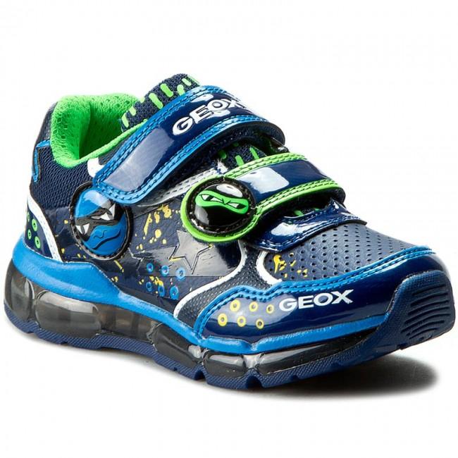 comienzo exótico Oh  Shoes GEOX - J Android B. C J6444C 0BUCE C0693 Morski/J. Niebieski - Velcro  - Low shoes - Boy - Kids' shoes   efootwear.eu