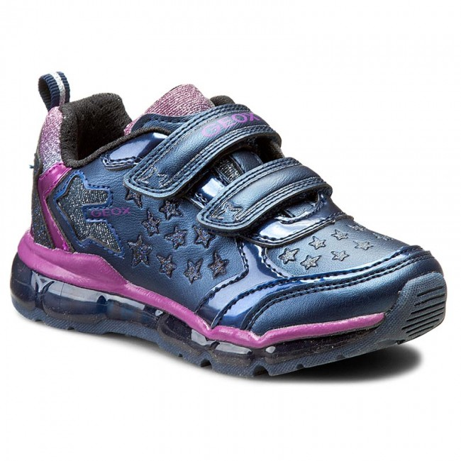 Identidad Una vez más Fahrenheit  Shoes GEOX - J Android G. A J6445A 0AJ02 C4021 C. Morski - Velcro - Low  shoes - Girl - Kids' shoes   efootwear.eu
