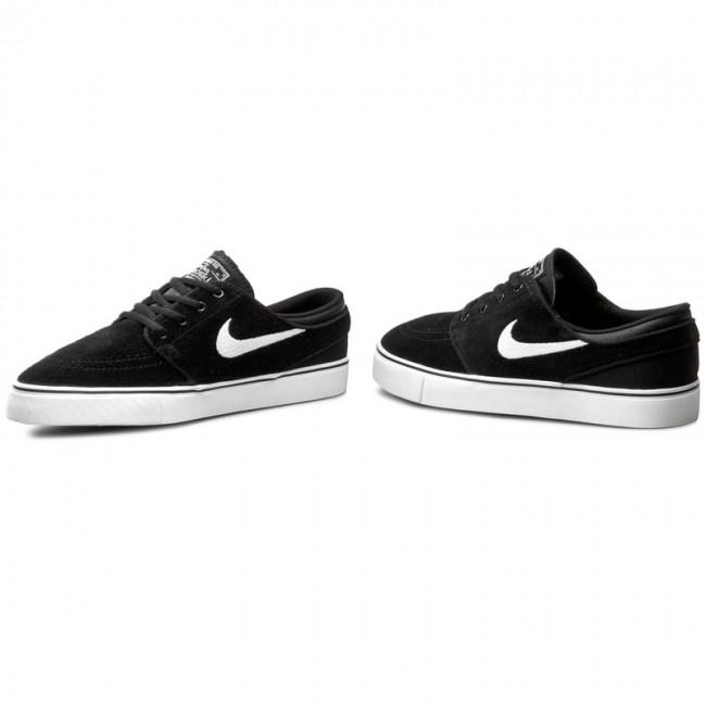 tak tanio style mody Kup online Shoes NIKE - Stefan Janoski (GS) 525104 021 Black/White/Gum Med Brown